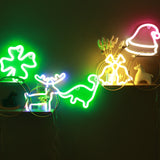 TONGER® Green Dinosaur Wall LED neon light