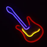 TONGER® Guitar wall LED neon sign