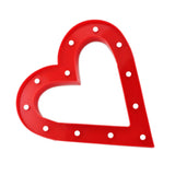 TONGER® Red Heart LED Marquee Light