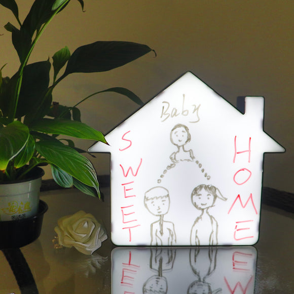 TONGER® House Writable lightbox