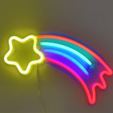 TONGER® Flash Star wall LED neon sign