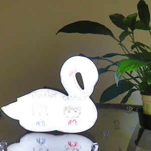 TONGER® Swan Writable Lightbox