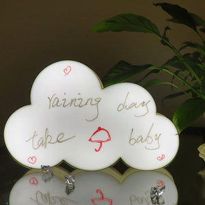 TONGER® White Cloud Writable Lightbox
