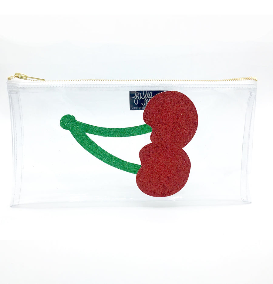Clear Cherry Clutch!