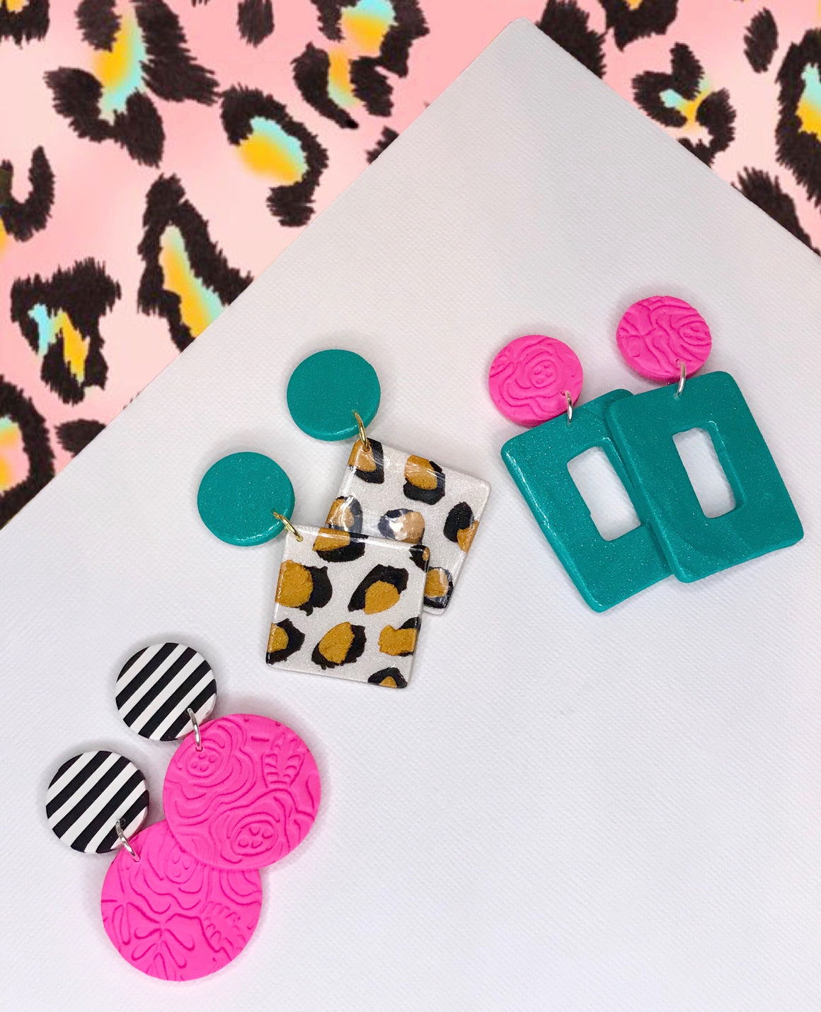 Spring Pattern Earrings
