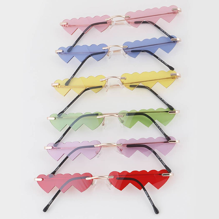 Slim Heart Sunglasses