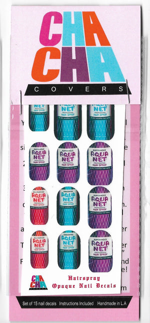 ChaCha Cover Nail Stickers