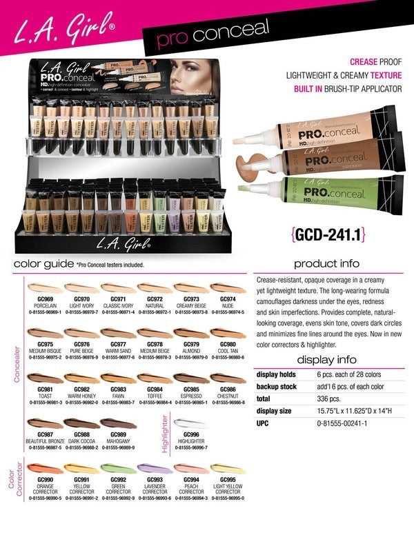 L.A. Girl Cosmetics Concealer