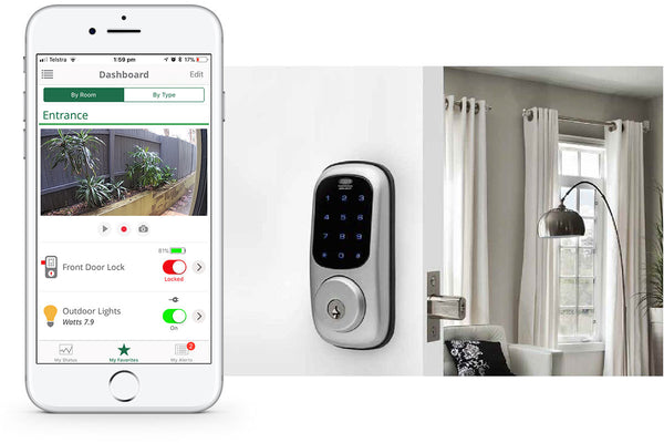 Smart Lock kit with iPhone