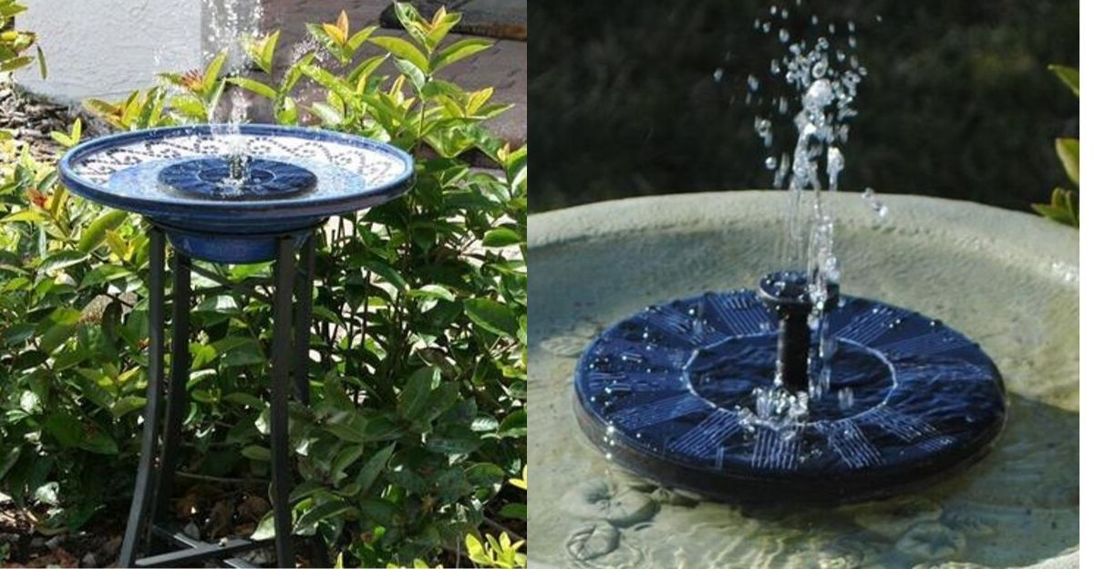 All That You Need to Know About Solar Garden Fountains