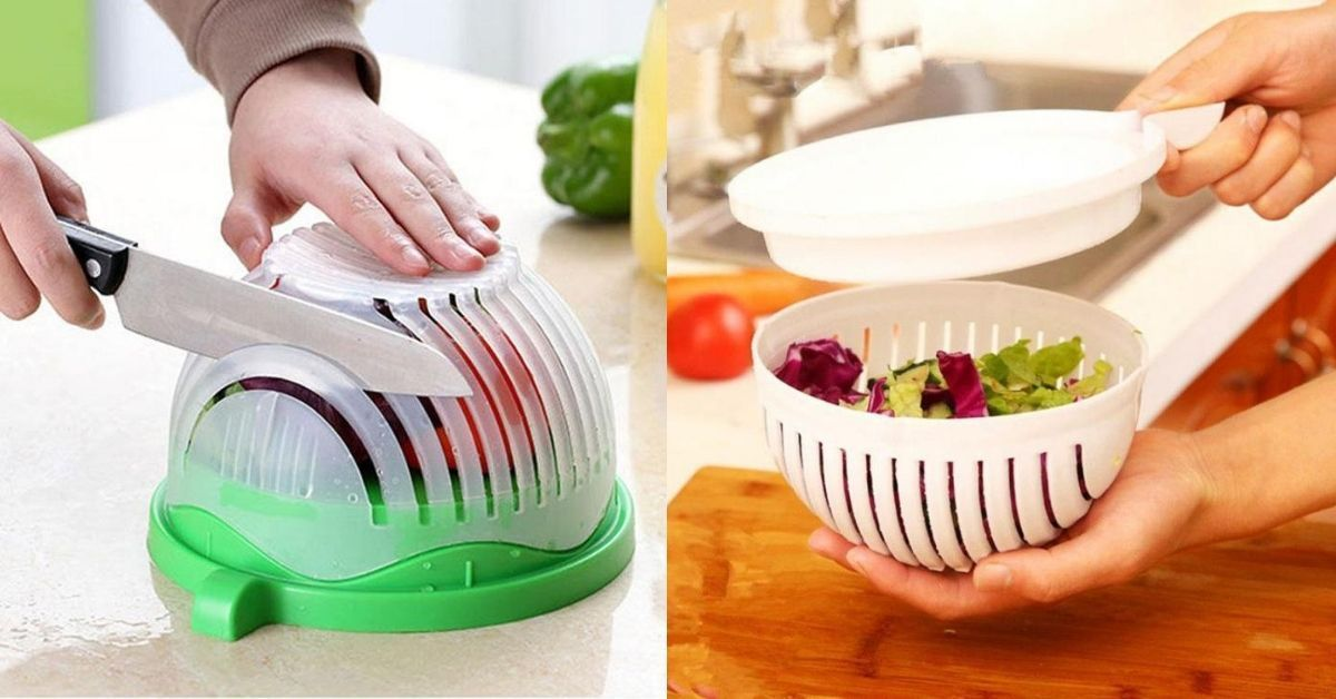Salad Cutter Bowl – A Comprehensive Guide & Review for You
