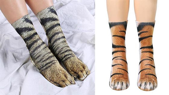 Animal Paws Graphic Design Socks