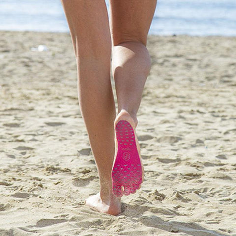 Protective Sticky Soles for Bare Beach Feet
