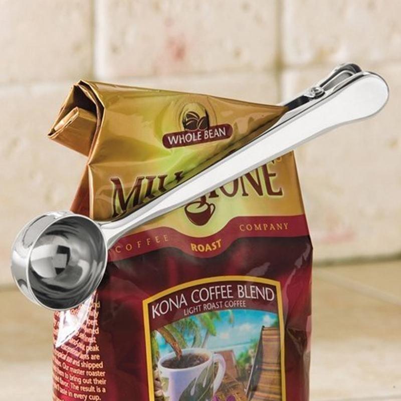 Coffee Scoop Bag Clip