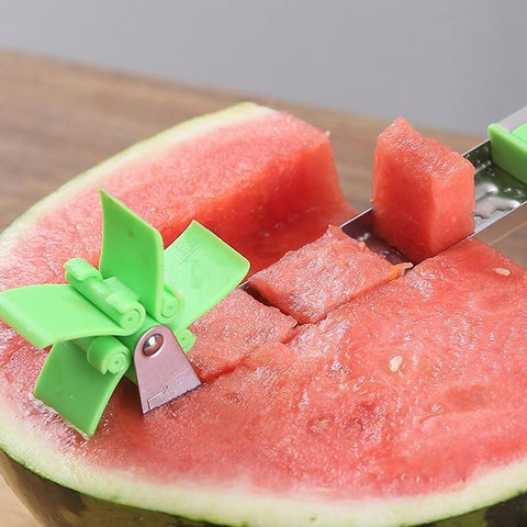 Easy Melon Cube Slicer Kitchen Tool