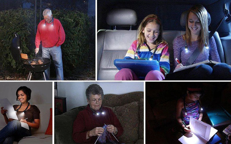Hands-Free Portable Led Light