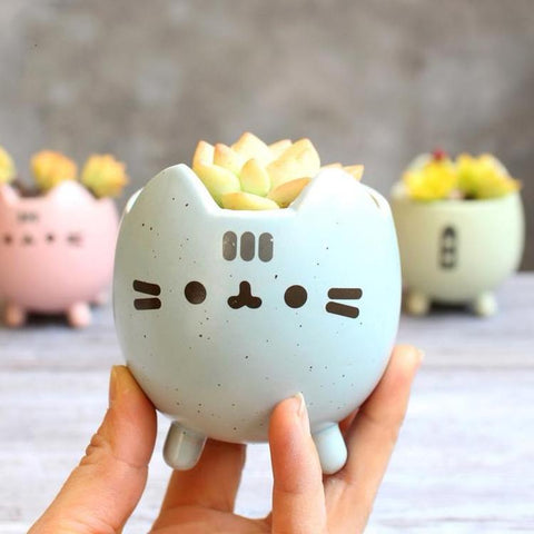 Kitty Planter Pot