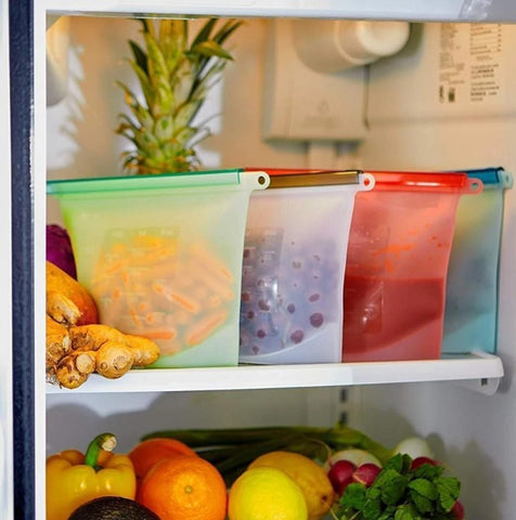 Reusable Food Bags for Storage