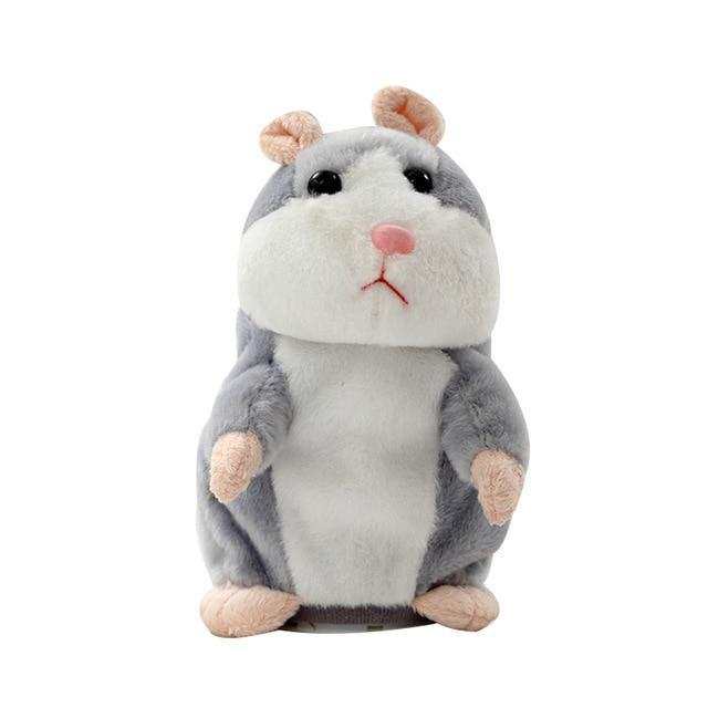 Inspire Uplift My Talking Pet Hamster Gray My Talking Pet Hamster