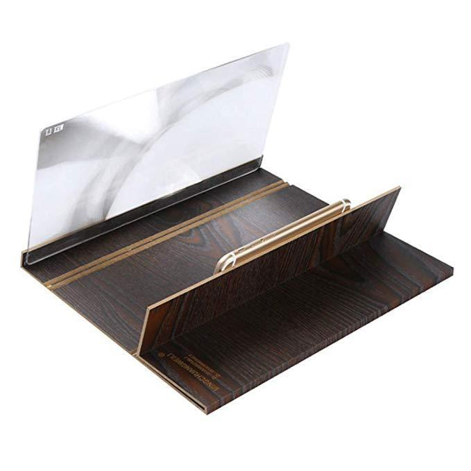 Inspire Uplift 3D Phone Screen Amplification Magnifier Wood Bracket