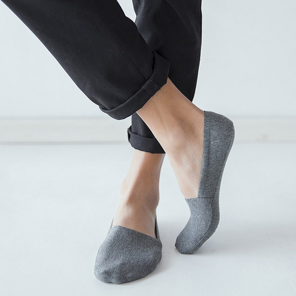 Inspire Uplift Anti Slip No Show Socks 5-Pack