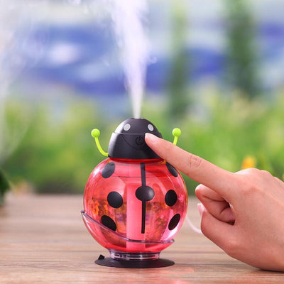 Inspire Uplift Aroma Diffuser Red Little Beetle USB Humidifier Aroma Diffuser