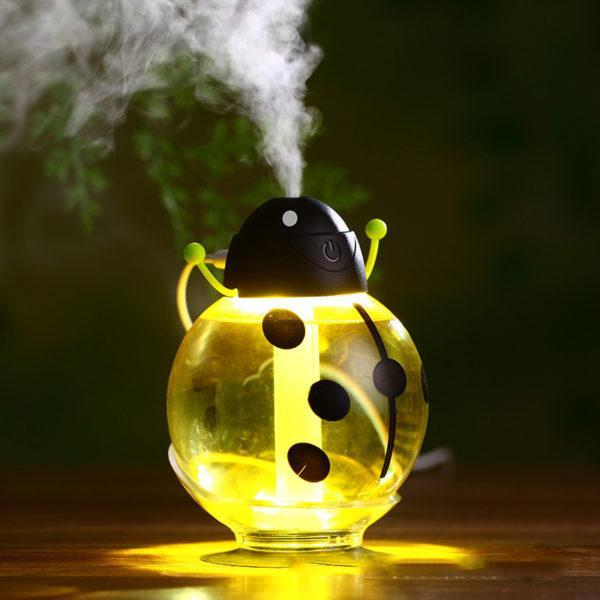 Inspire Uplift Aroma Diffuser Yellow Little Beetle USB Humidifier Aroma Diffuser