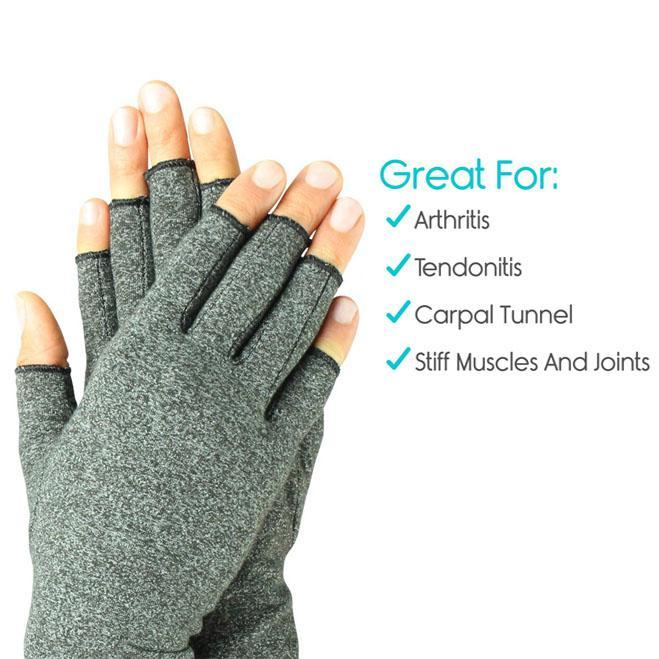 Inspire Uplift Arthritis Compression Fingerless Gloves Arthritis Compression Fingerless Gloves