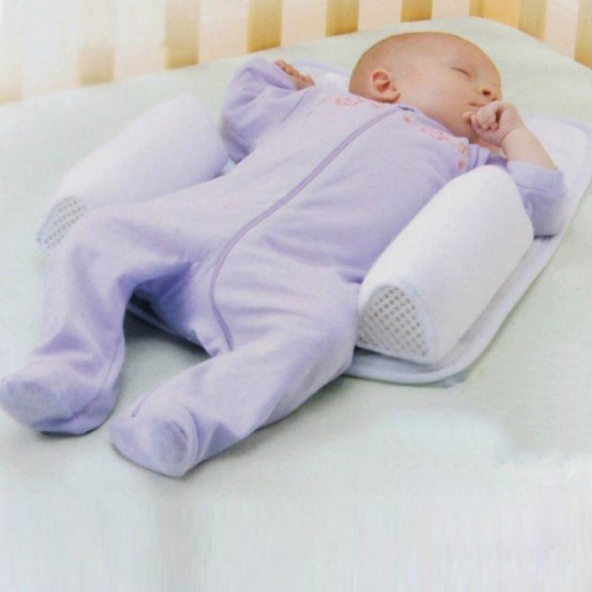 Baby Anti Roll Pillow The Best Baby Sleep Positioner