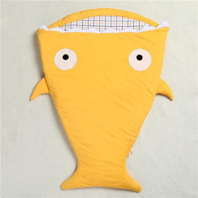 Inspire Uplift Baby Sleeping Bag Mustard Mr. Shark Baby Sleeping Bag