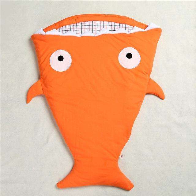 Inspire Uplift Baby Sleeping Bag Orange Mr. Shark Baby Sleeping Bag