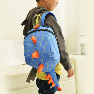Inspire Uplift Backpack Blue Dino Kids Backpack