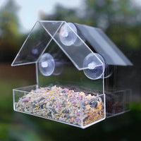 Inspire Uplift Bird Feeder Little House Clear Bird Feeder