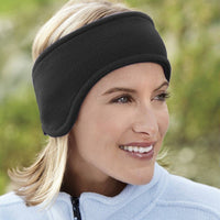 Inspire Uplift black Ear Warmer Headband