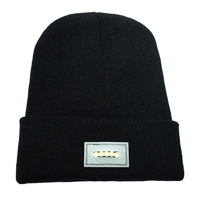 Inspire Uplift black Knit Tactical Beanie Hat