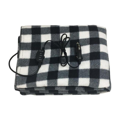 Inspire Uplift Black Premium Cozy Car Heating Blanket