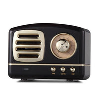 Inspire Uplift Black Vintage Bluetooth Speaker