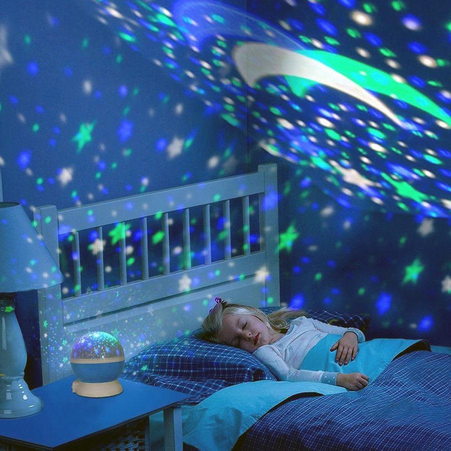 ... Inspire Uplift Blue Space Projector Lamp ...