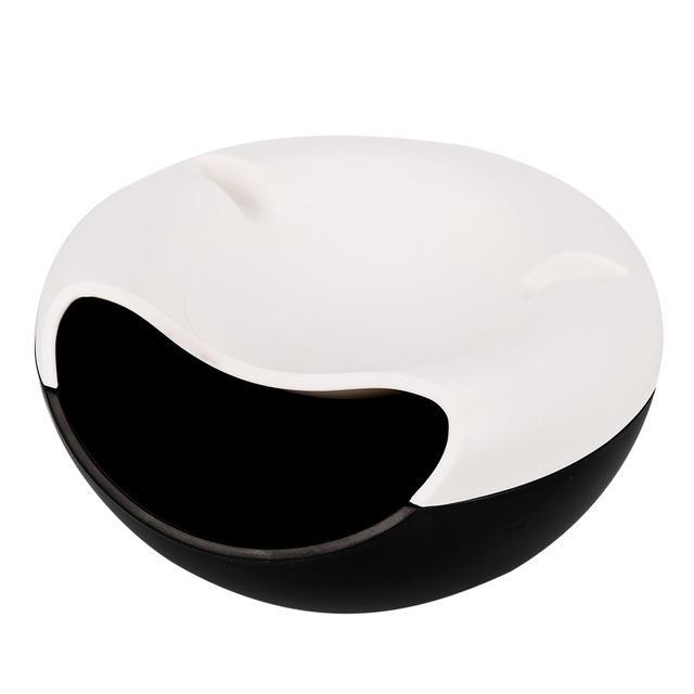 Inspire Uplift Bowl Black Donut Storage Bowl