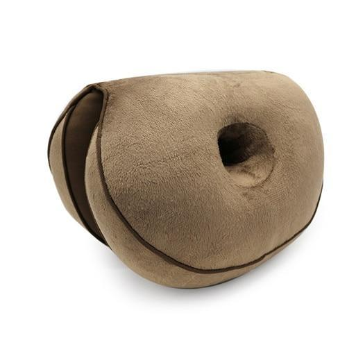 Inspire Uplift Brown Ergonomic Hip Cushion Posture Corrector