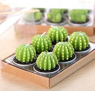 Inspire Uplift Cactus Smoothy Mini Cactus Candles