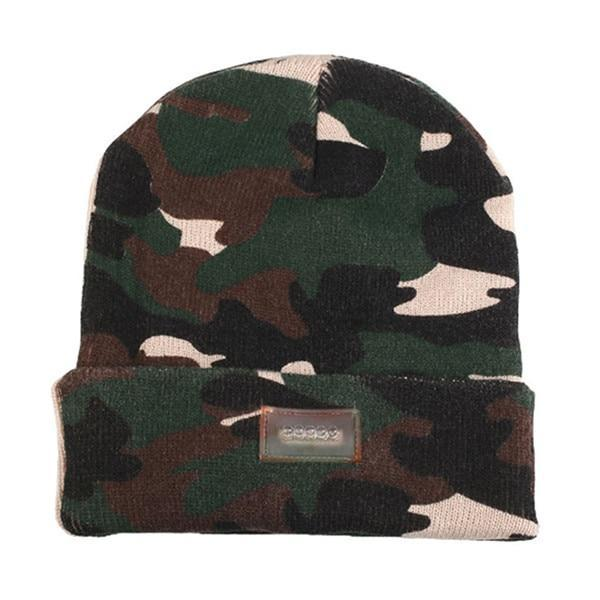 Inspire Uplift camouflage Knit Tactical Beanie Hat