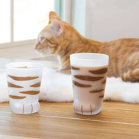 Inspire Uplift Cat Paw Cup Brown Cat Paw Cup