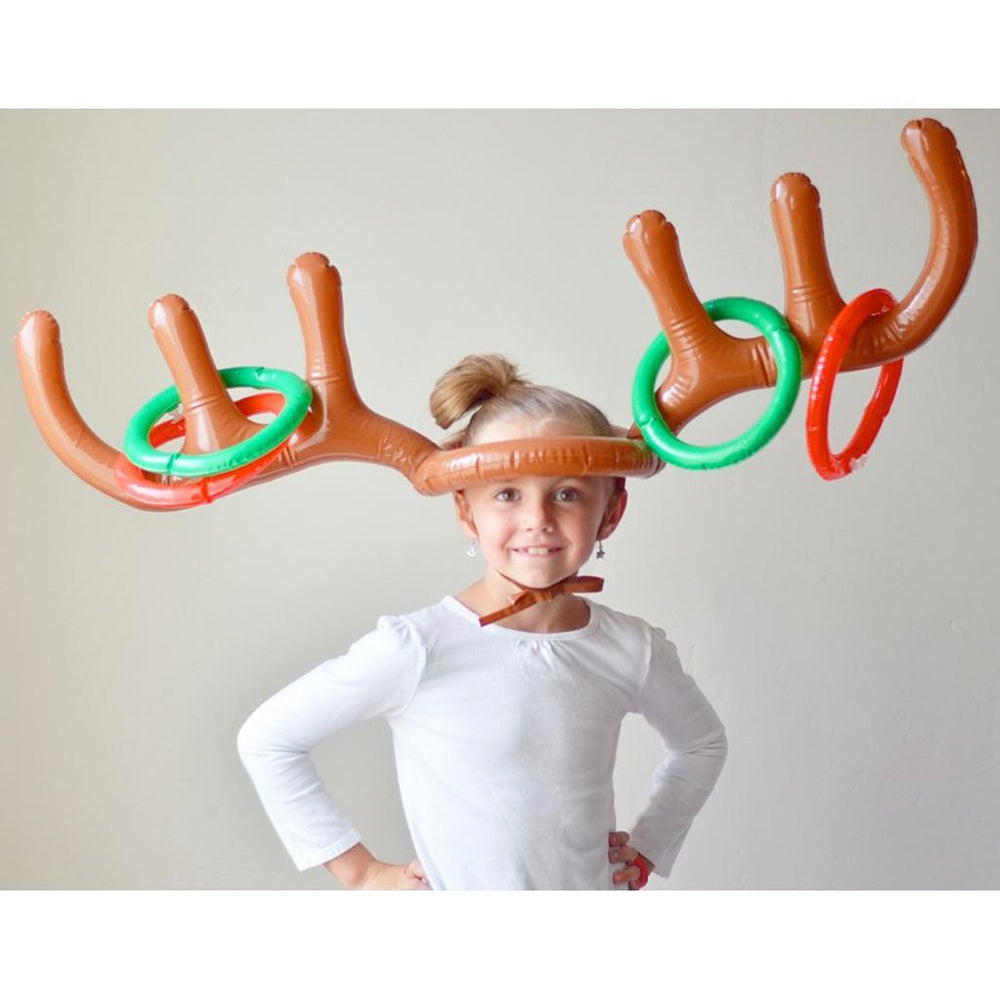 Inspire Uplift Christmas Party Inflatable Reindeer Game Brown Christmas Party Inflatable Reindeer Game