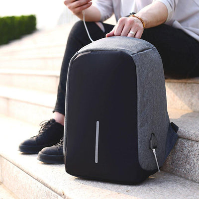 Inspire Uplift City Travel Backpack Gray City Travel Backpack