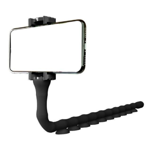 Inspire Uplift Classic Black Adjustable Tripod Stand Phone Holder
