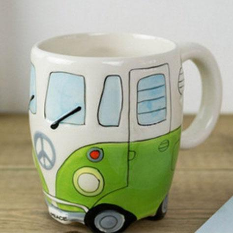 Inspire Uplift Coffee Mug Green Road Trip Coffee Mug