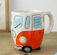 Inspire Uplift Coffee Mug Orange Road Trip Coffee Mug