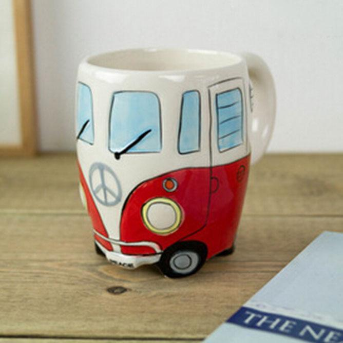 Inspire Uplift Coffee Mug Red Road Trip Coffee Mug