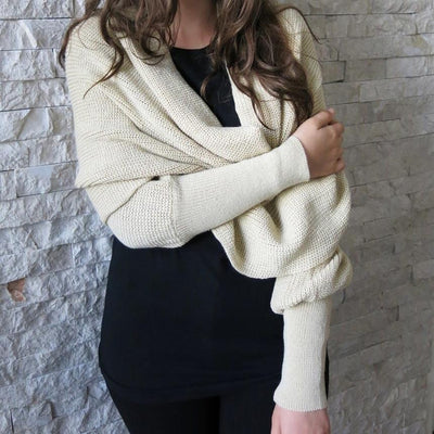 Inspire Uplift Convertible Scarf Sweater